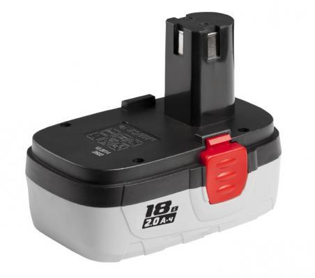 Аккумулятор ЗУБР ЗАКБ-18 N20 профессионал для шуруповертов 2.0А/ч 18В аккумулятор зубр закб 7 2 l15