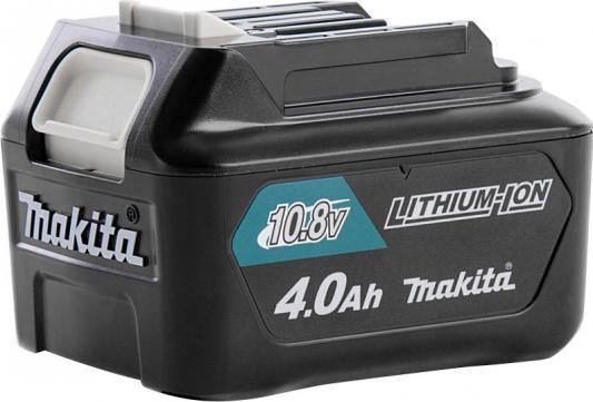 Аккумулятор MAKITA 197403-8 тип bl1040b слайдер 10.8в 4Ач li-ion комплект makita аккумулятор bl1850b li ion 18v 5ah слайдер х2шт зу dc18rc кейс macpac 198311 6