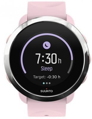 Смарт-часы SUUNTO WATCH 3Fitness SAKURA розовый силиконовый ремешок SS050052000 часы туристические suunto chung billiton ss015855000 suunto m2
