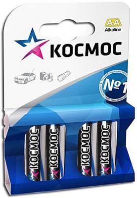 Батарейка КОСМОС LR6 AA (блистер 4шт) цена и фото
