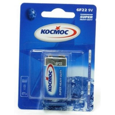 Батарейка КОСМОС KOC6F221BL S 6F22 (блист.1шт.) батарейка космос r20