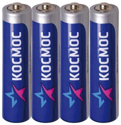 Батарейки КОСМОС KOCLR034BL AAA 4 шт батарейки canyon nrg 4 шт aaa s6alkaaa4