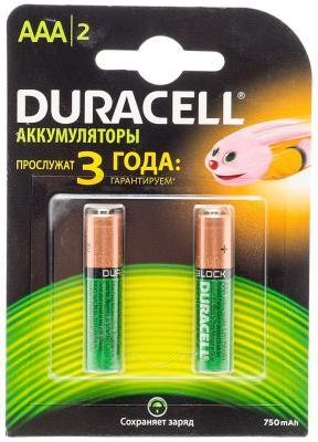 Аккумулятор DURACELL HR03-2BL (2/20/) 850mah предзаряженные 1.2В 13г (цена за шт,в блистере 2шт) батарейки duracell аа lr6 2bl basic cn 2 шт