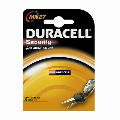 Батарейка DURACELL MN27 (10/100/9600) MN27 12V батарейки duracell mn27 b1 security 12v alkaline
