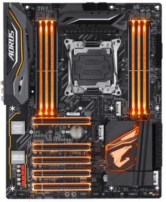 Материнская плата GigaByte X299 AORUS Ultra Gaming Pro Socket 2066 X299 8xDDR4 5xPCI-E 16x 8 ATX Retail проволока сварочная wester sw10500