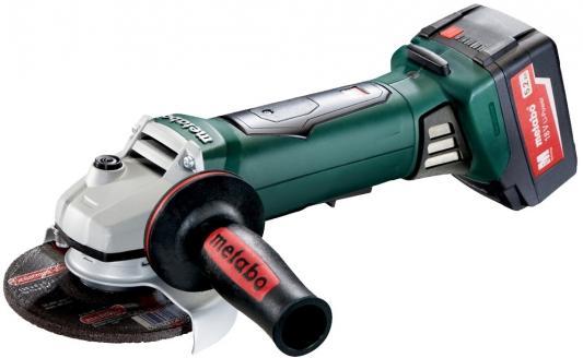 цена на Углошлифовальная машина Metabo WB 18 LTX BL 125 Quick 125 мм