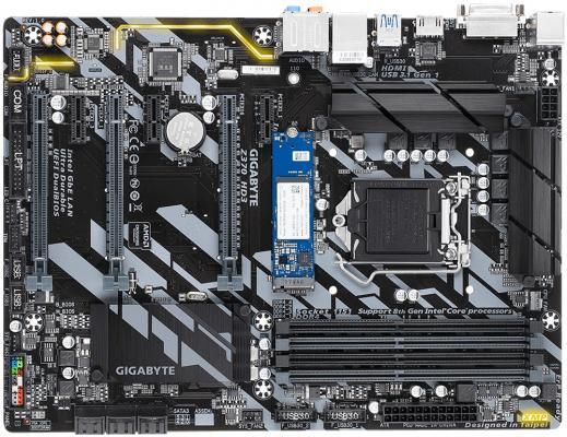 Материнская плата GigaByte Z370 HD3-OP Socket 1151 v2 Z370 4xDDR4 3xPCI-E 16x 3xPCI-E 1x 6 ATX Retail