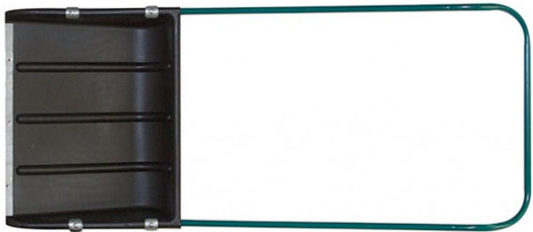 Скрепер д/уборки снега FIT 68133  пластик металл.ручка 600х470мм