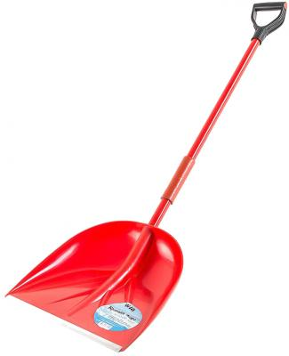 Лопата ЗЕМЛЕРОЙКА 0225 Красная жара для уборки снега скрепер землеройка 0240 пушер для уборки снега шир совка 740мм выс 570 длина 1460мм 32с