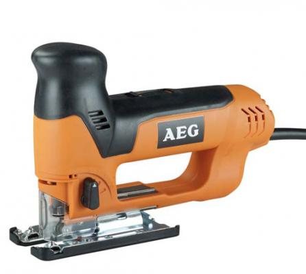 Лобзик AEG ST 700 E 705Вт 600-2700ход/мин 110мм-дер 10мм-мет маятниковый, кейс лобзик aeg st 700 e 412978