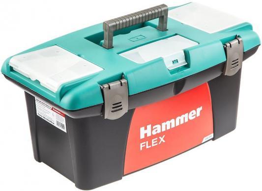 """Ящик для инструментов Hammer Flex 235-011 19"""" с морозостойким замком и органайзером 480*235*270"""