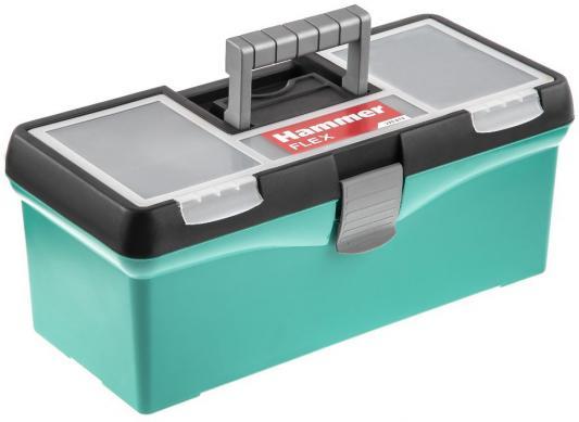 Ящик для инструментов Hammer Flex 235-012 15&quot, с морозостойким замком и органайзером 380*175*155