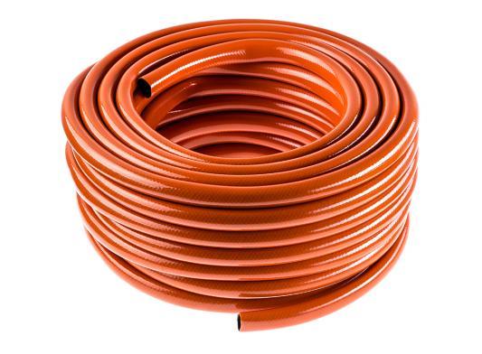 Шланг садовый Hammer Flex 236-008 3/4, 25м, 3-х слойный, армированный шланг flex 9x9 3 4 х 25 м