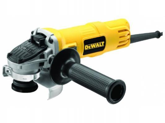 Углошлифовальная машина DeWalt DWE4051 125 мм 800 Вт