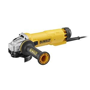 Углошлифовальная машина DeWalt DWE4227-QS 125 мм 1200 Вт углошлифовальная машина болгарка dewalt dwe8110s 730 вт 125 мм