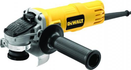 Углошлифовальная машина DeWalt DWE4150 115 мм 900 Вт пылесос dewalt dwv 900 l