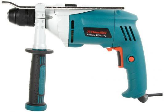 Ударная дрель Hammer UDD710B PREMIUM 710Вт дрель ударная hammer udd710a 710вт