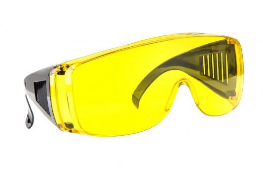 Очки защитные Hammer Flex PG02 230-014 желтые с дужками