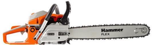 Бензопила Hammer Flex BPL5220B 2.2кВт, 52см3, шина 20 цепь 0.325-1.5мм-76 бензопила hammer flex bpl4116a