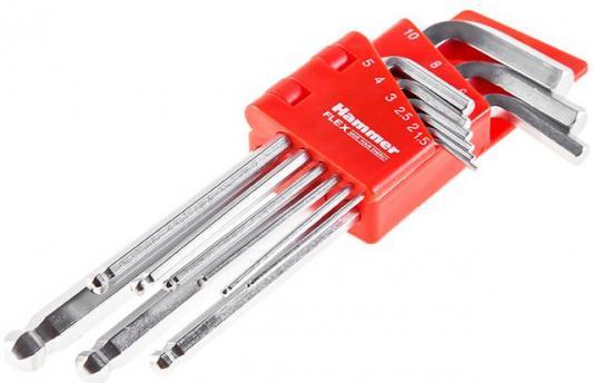 Набор шестигранных ключей Hammer Flex 601-030 9 шт.: 1.5;2;2,5;3;4;5;6;8;10 мм, CRV em 030 page 9