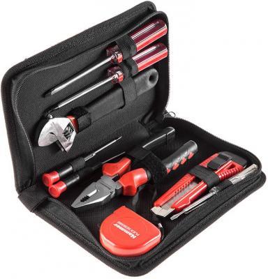 Набор инструментов Hammer Flex 601-035 9 предметов в пенале