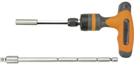 Держатель NEO 06-076 C трещоткой 1/4 с длинным стержнем кабелерез для медных алюминиевых кабелей neo 250 мм с трещоткой 01 516