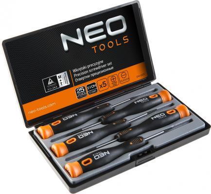 Набор отверток NEO 04-225 для точной работы набор 5 шт. набор ключей neo 09 512