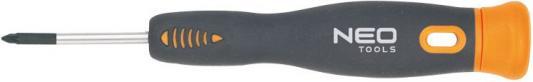 Отвертка NEO 04-085 крестовая прецизионная PH00x40мм CrMo цена