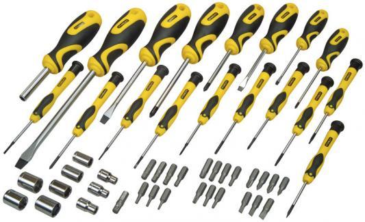 Набор отверток STANLEY STHT0-70886 49предметов stanley 0 47 443 разметочный набор yellow