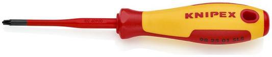 Отвертка KNIPEX KN-982501SLS (тонкая) PlusMinus Pozidriv® 187 mm отвертка для винтов torx knipex kn 982625