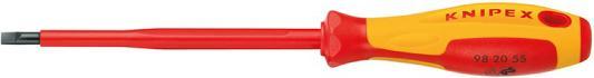 Отвертка KNIPEX KN-982040 1000 V сталь хром-ванадиевая отвертка knipex kn 982055 1000v сталь хром ванадиевая