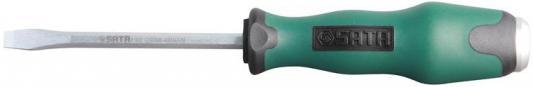 Отвертка SATA 61608 SLOTTED серия T 8х250мм 378.5/39.0мм ударная прямой шлиц минус плоская - отвертка sata 09343