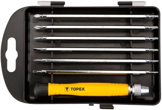 Набор отверток TOPEX 39D551 прецизионные 7шт. цена