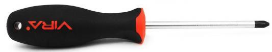 Отвертка VIRA 391100 ph2x100мм CrV эргономичная двухкомпонентная ручка отвертка vira 305081