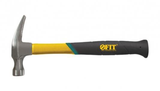 Молоток FIT 44774 гвоздодер фиберглассоваяусиленная ручка профи 450 гр (27 мм) молоток гвоздодер fit 44781