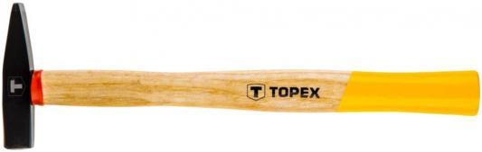 Молоток столярный TOPEX 02A405 500г рукоятка из ясеня молоток шиферный topex с рукояткой из стекловолокна 600 г 02a120