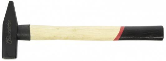 Молоток MATRIX 10233 слесарный 600г квадратный боек деревянная рукоятка слесарный молоток matrix 10230