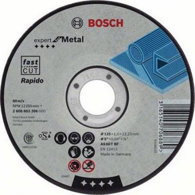 Круг отр. BOSCH Expert for Metal Rapido 180x1,6x22 выпуклый (2.608.603.403) по металлу цена