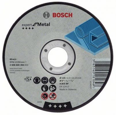 Круг отрезной BOSCH Expert for Metal 115x1,6x22 (2.608.600.214) по металлу круг отрезной bosch 180х3х22 expert for stone 2 608 600 317