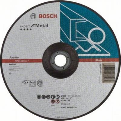 Круг отрезной BOSCH Expert for Metal 230x1,9x22 (2.608.603.400) по металлу круг отрезной bosch 180х3х22 expert for stone 2 608 600 317
