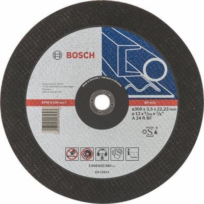 Круг отрезной BOSCH Expert for Metal 300x3,5x22 (2.608.600.380) по металлу круг отрезной bosch 180х3х22 expert for stone 2 608 600 317