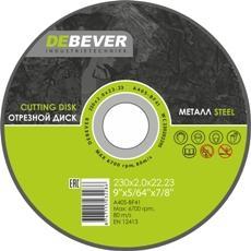 Круг отрезной DEBEVER WC23025229S 230х2.5х22.23 по металлу marco bologna блузка