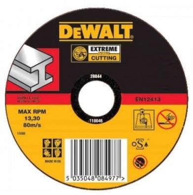 Круг отрезной DEWALT DT42210Z-QZ Ф115x22.2x2.8мм тип 1 INDUSTRIAL по металлу