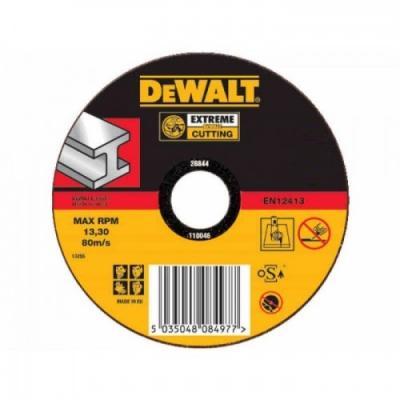Круг отрезной DEWALT DT42200-XJ Ф115х22.2х1.6мм тип 1 по металлу abs 1 75 3d 395m