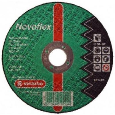 цена на Круг отрезной METABO 616453000 Novoflex 230х3.0мм прямой С30 по бетону, кирпичу, камню, керамике