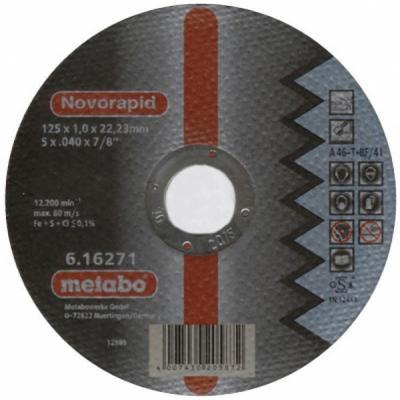Круг отрезной METABO 617127000 SP-Novorapid 150x1.0x22.23мм по нержавеющей стали отрезной круг metabo sp novorapid 125x1x22 23мм 617126000