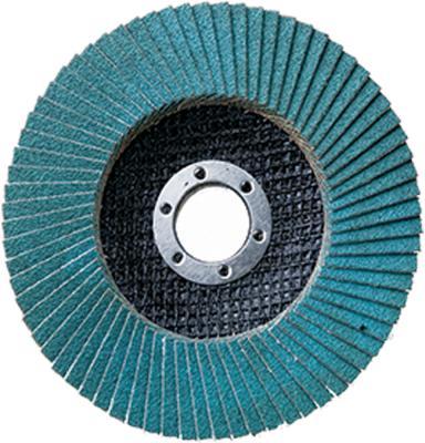 все цены на Круг Лепестковый Торцевой (КЛТ) АТАКА 993380 115мм Р40 цирконий синий онлайн