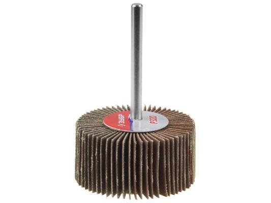 Шарошка ЗУБР 36604-100 МАСТЕР зерно-электрокорунд нормальный P100 40х80мм