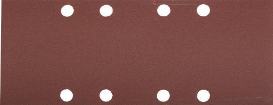 Лист шлифовальный ЗУБР 35591-180  МАСТЕР на зажимах 8отверстий по краю для ПШМ P180 93х230мм 5шт.