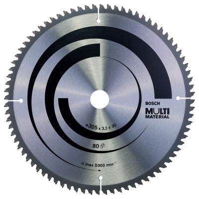 Диск пильный BOSCH Multi Material 305x80x30 GCM 12 (2.608.640.452) 305x80x30 GCM 12 gorenje gcm 712